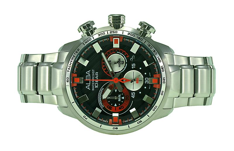 Alba Men Chronograph Watch VK63-X022BORS