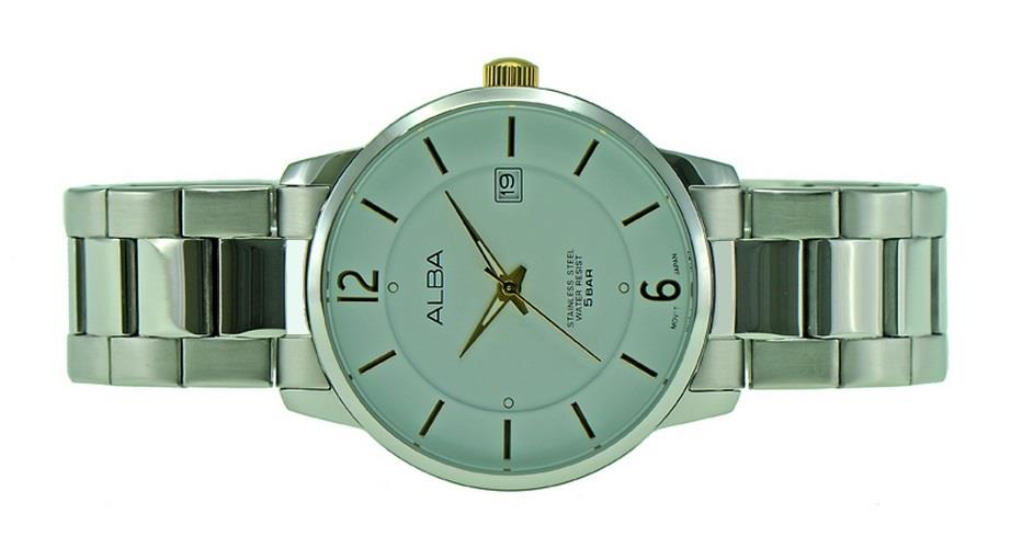 Alba Men Date Watch VJ42-X146WGSS