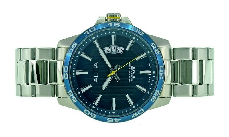 Alba Men Date Watch VJ42-X149BLYS