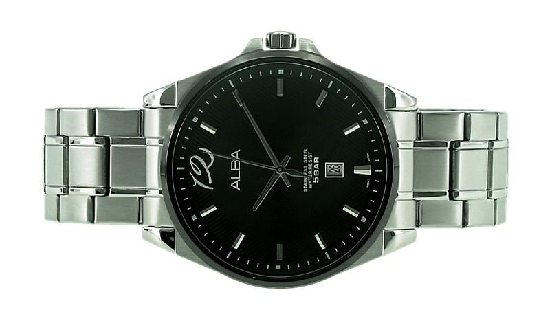Alba Men Date Watch VJ42-X186BSS