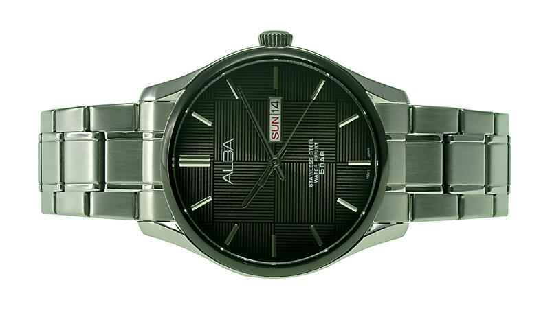 Alba Men Day, Date Watch VJ43-X032BSS