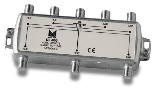 Alcad DE-603 (6-Way Tap)