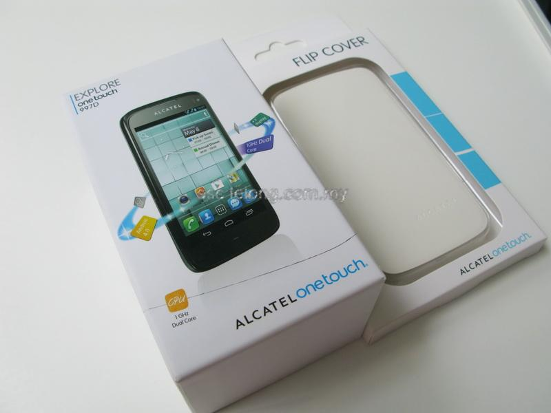 Alcatel 997D dual sim Android 8MP camera 1Ghz Duo Core 3G 4.3� screen