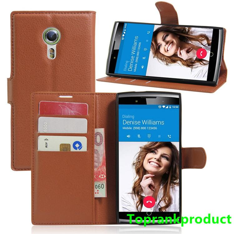 Alcatel One Touch Flash 2 Flash2 Flip PU Leather Case Cover Casing