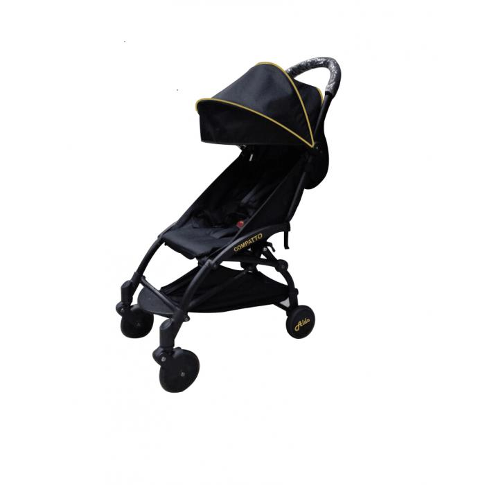 ALDO - COMPATTO STROLLER 2016 WITH BUMPER BAR & CUP HOLDER