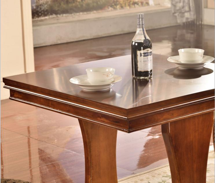 AllFurniture retro solid wood dessert bar cafe table