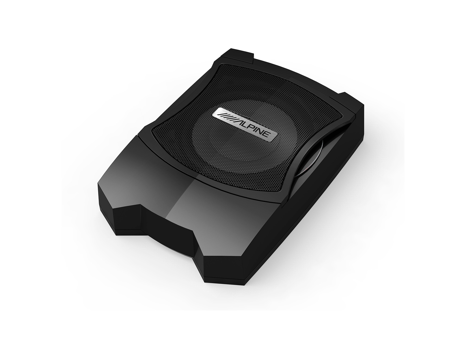 Alpine PWE-V80 Car 8 inch Powered Enclosed Subwoofer