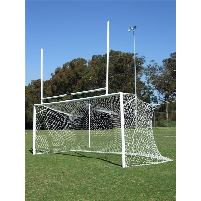 Aluminium Combo Soccer And Rugby Goal Post High Quality (SPORTEX)