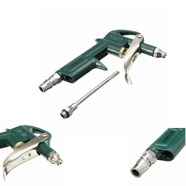 Aluminum Dust Removing Air Blow Gun Cleaning Pressure Pneumatic Tool F
