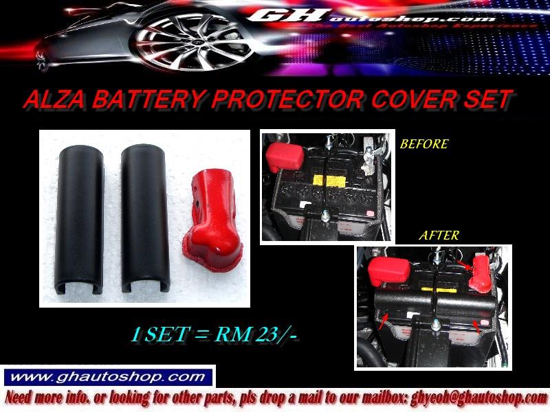 ALZA BATTERY PROTECTOR COVER SET