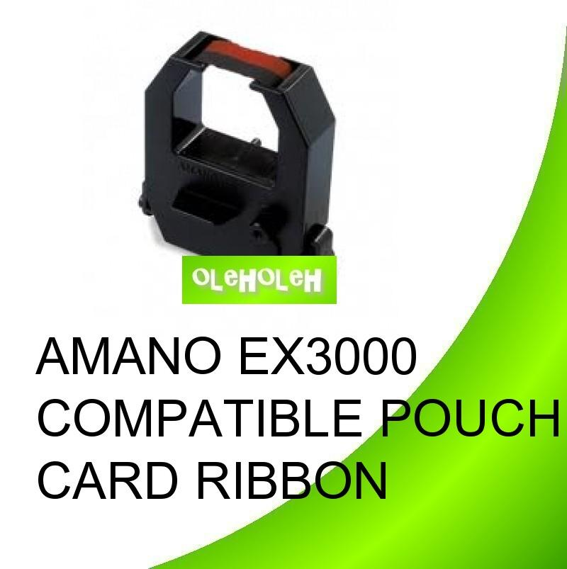 Amano EX3000 Compatible Punch Card Ribbon