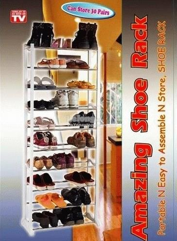 Amazing Shoe Rack with 10 Tier Storage