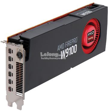 AMD FIREPRO W9100 16GB GDDR5 512-BIT PROFESSIONAL GRAPHIC CARD
