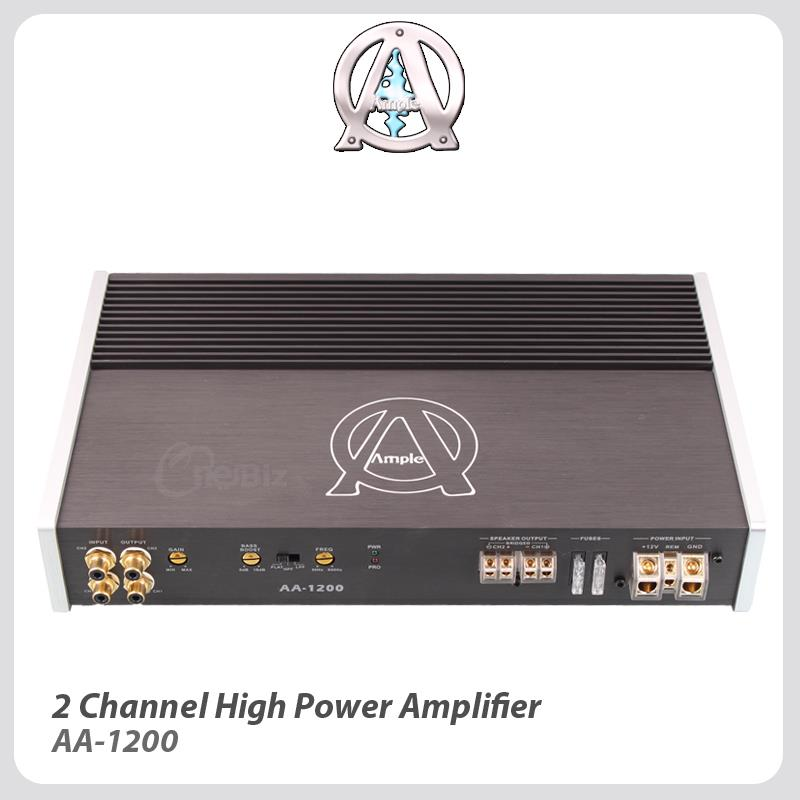 Ample Audio 2 Channel High Power Ampliier