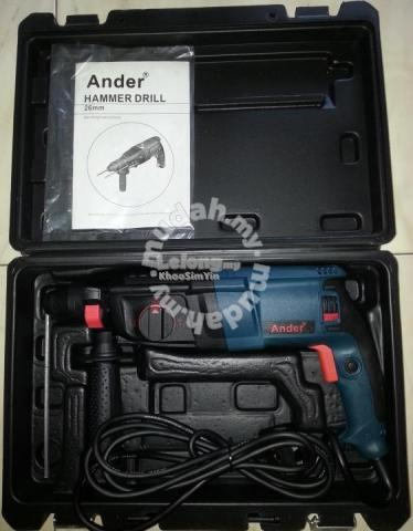 ANDER 800W 3-Modes Rotary Hammer Z1A 2-26SRE