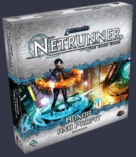Android Netrunner Deluxe Expansions : Honor and Profit