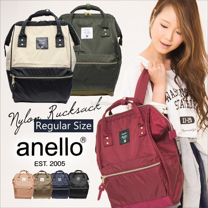 ANELLO JAPAN Authentic Nylon Backpack (FreeShipping)