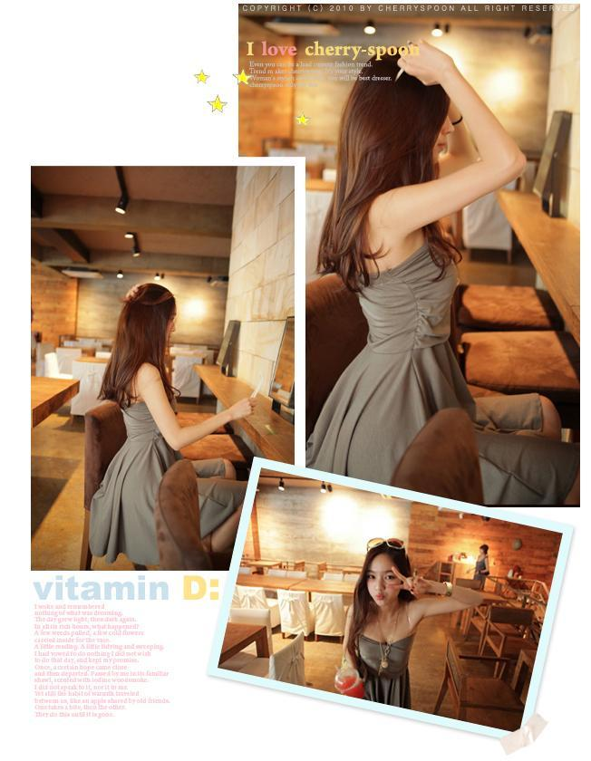 Angel Fashion  0447 连衣裙 Dress
