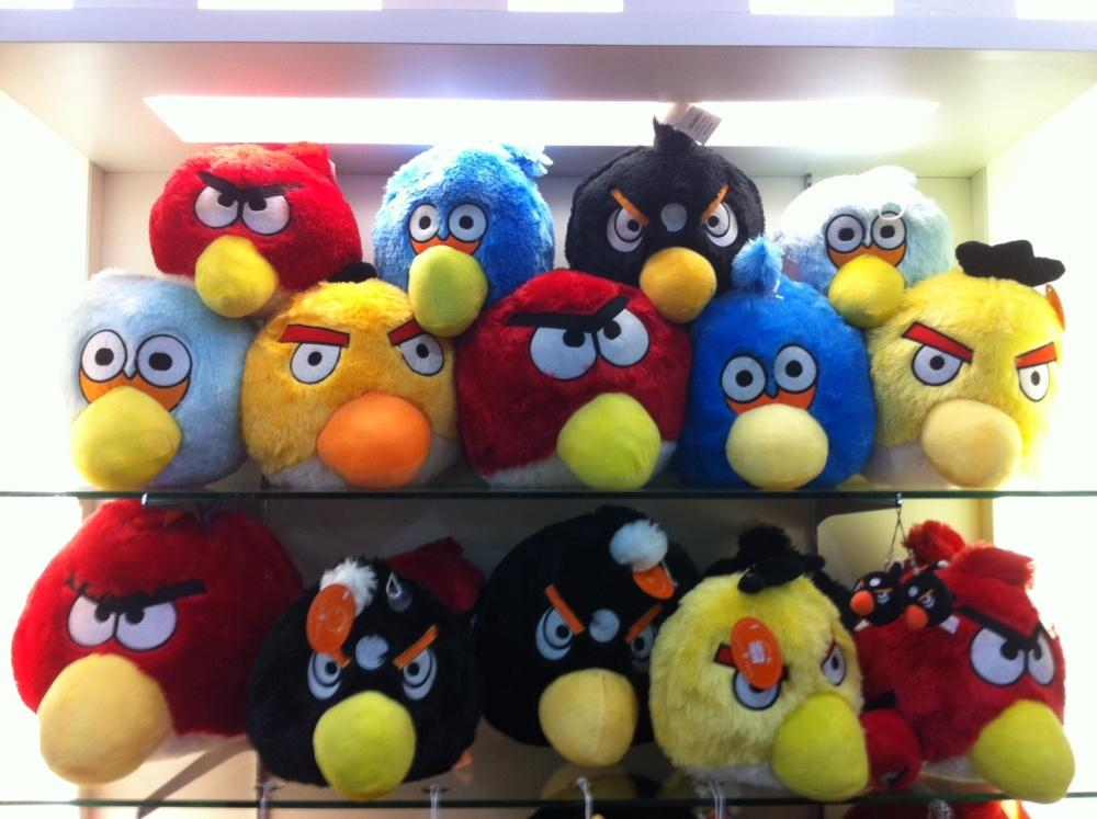 ANGRY BIRD TOYS 10''(FREE SHIPPING)