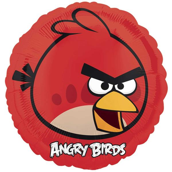 Angry Birds Red Bird 17-inches Foil Balloon 25770