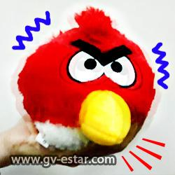 Angry birds with sound and vibration - surprise present for children