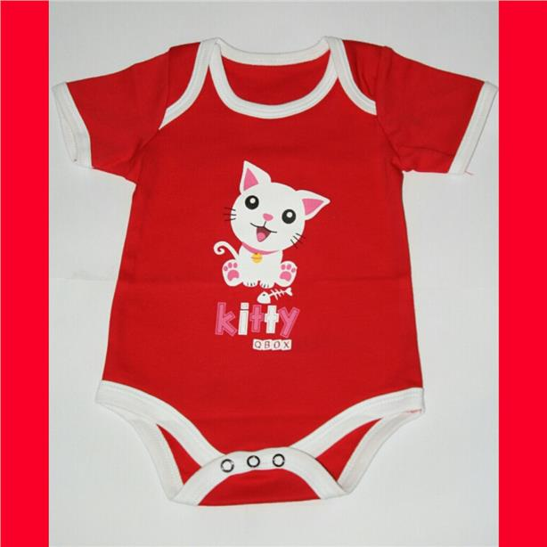 Animal Baby Rompers - Cat
