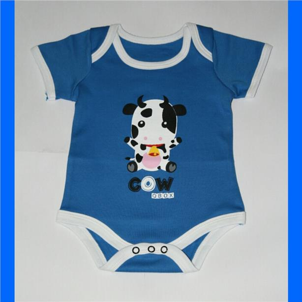 Animal Baby Rompers - Cow