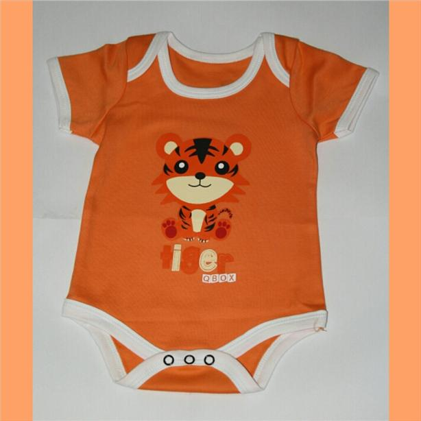 Animal Baby Rompers - Tiger