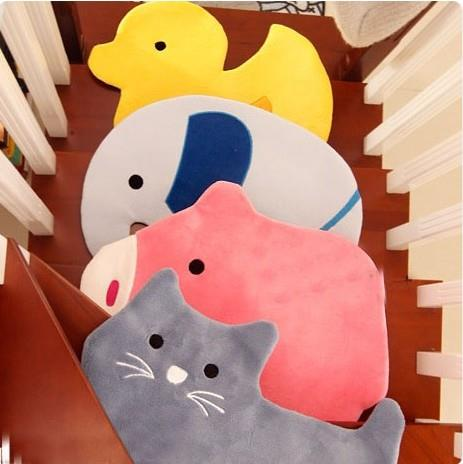Animal Cartoon Soft Plush Indoor Decorative Mat