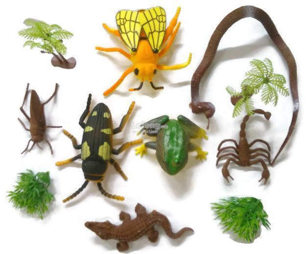 Animals Toy and Insect Toy ( Zoo Crew )