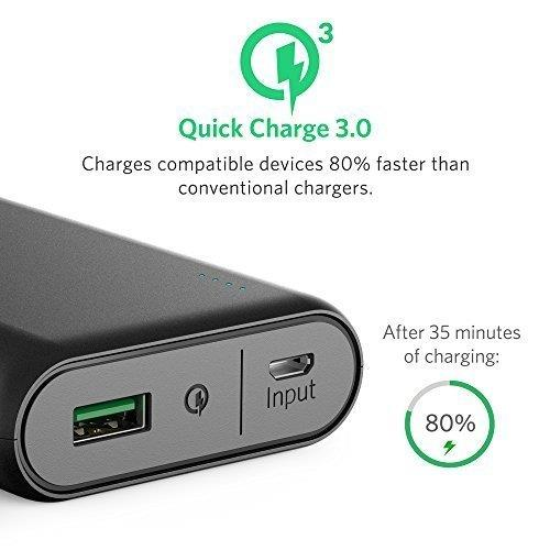 Anker PowerCore 10000 with Quick Charge 3.0