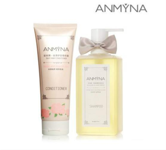 ANMYNA No Silicone Oil Luxury Shampoo Set(Shampoo 520ml+Conditioner)