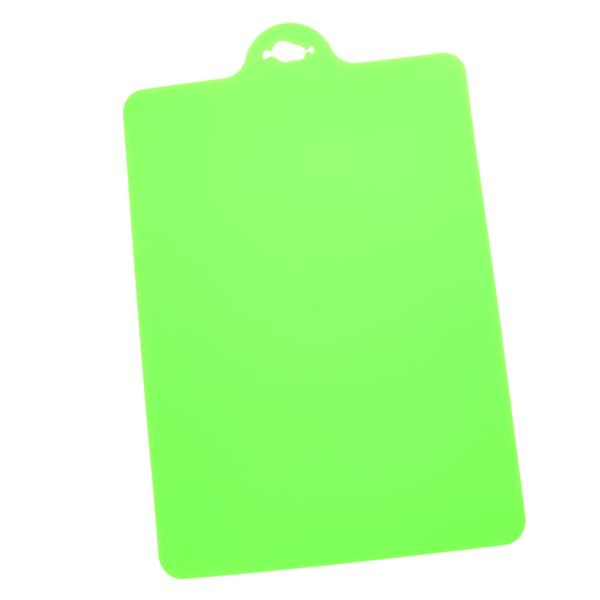 Anti-Slip Kitchen Flexible Cutting Board Chopping Board (Green)