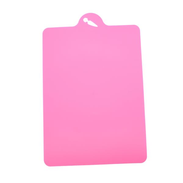 Anti-Slip Kitchen Flexible Cutting Board Chopping Board (Pink)