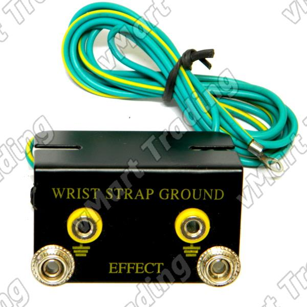 Anti-Static / ESD Wrist Strap Grounding / Earthing Terminal