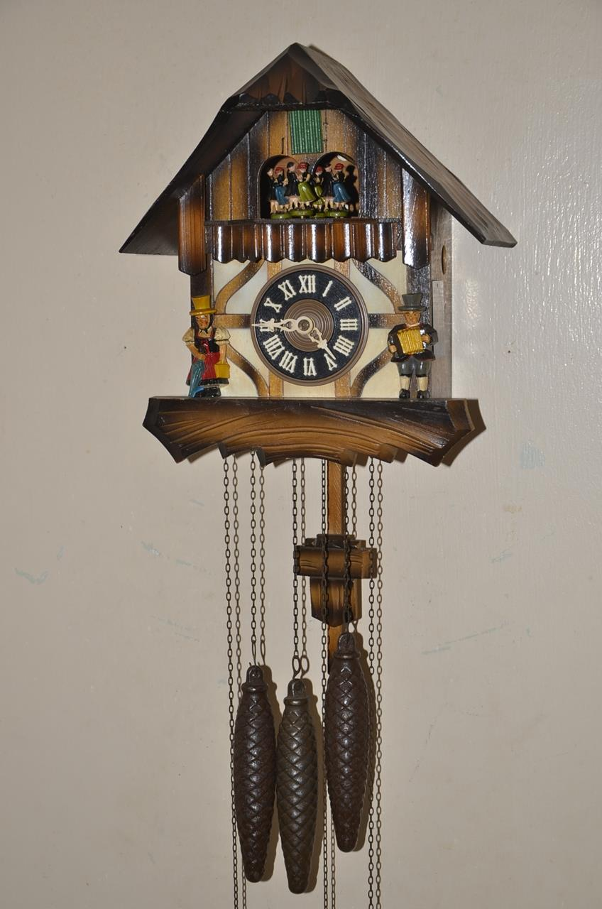 Antique vintage regula germany mechanical pendulum end 2 5 2016 7 15 00 pm - Cuckoo pendulum wall clock ...