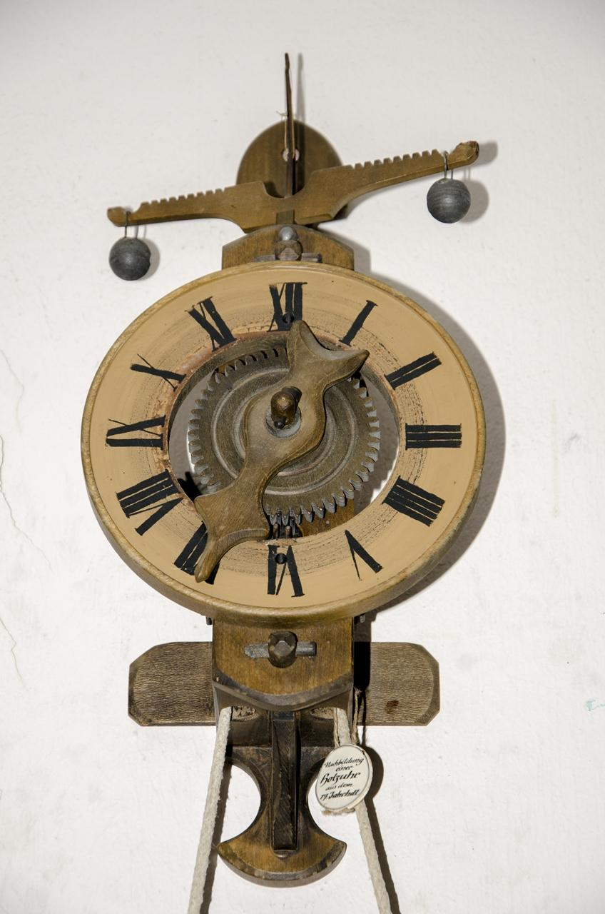 antique vintage wooden wall clock from germany end 7 17