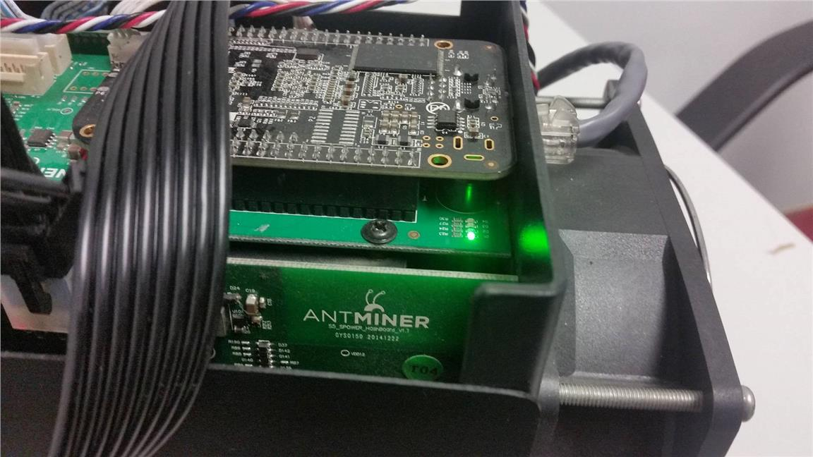 Antminer S5 with optional PSU