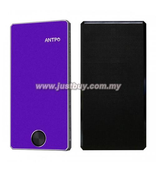 ANTPO AN10000 8000mAh Lithium Polymer Power Bank - Purple