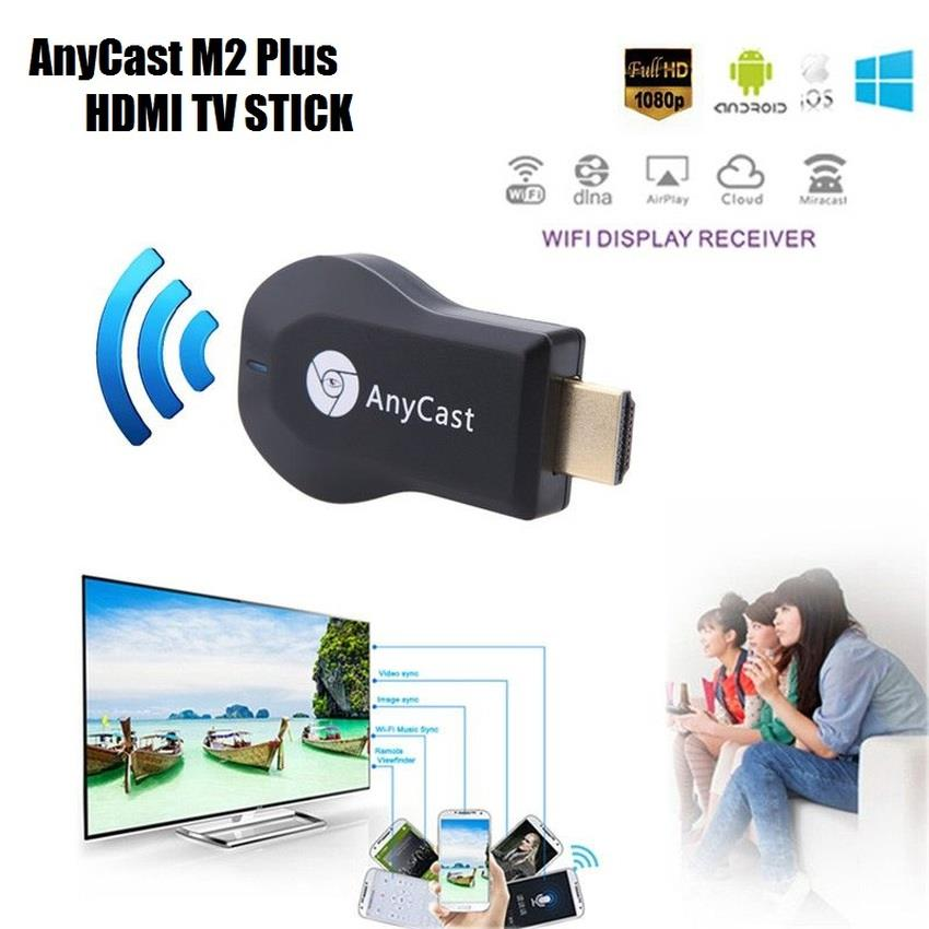Anycast M2 Plus DLNA Airplay WiFi Display Miracast TV Dongle Stick