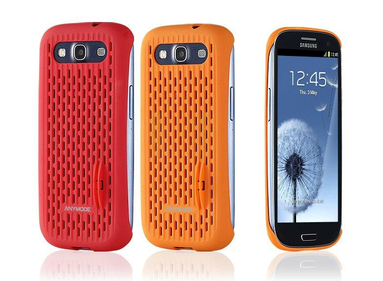 AnyMode Coin back cover Mesh Case for Samsung Galaxy S3 Case