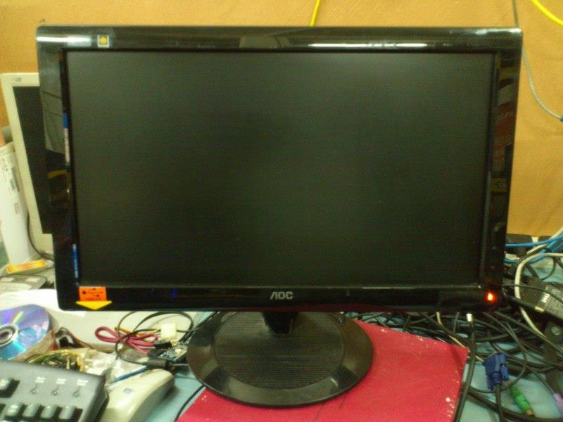 AOC 936Sw 19 inch Wide LCD Monitor 090316