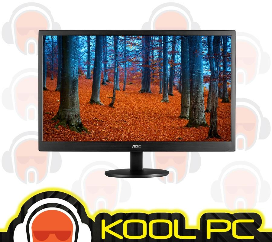 AOC e970swn 18.5'W LED Monitor,1366 x768 Resolution,5ms