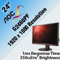 AOC G2460PF 24' LED MONITOR