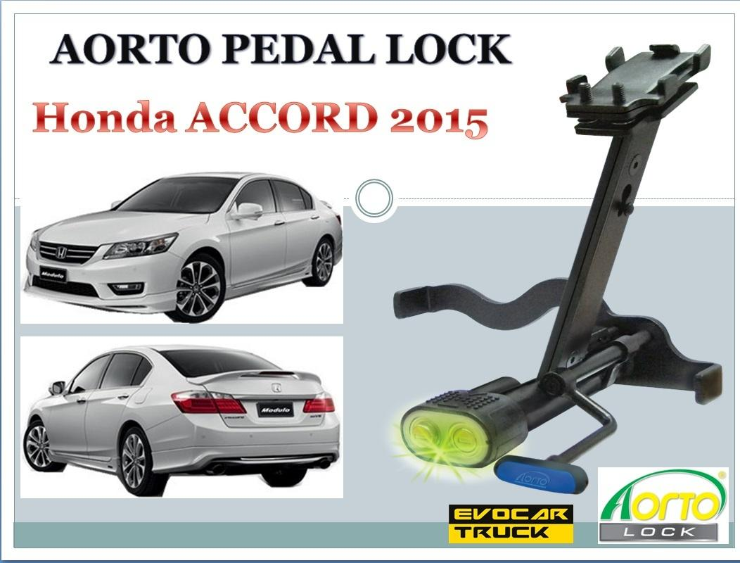 Aorto Pedal Lock For Honda ACCORD 2015 (A) Double Lock, LED Indication