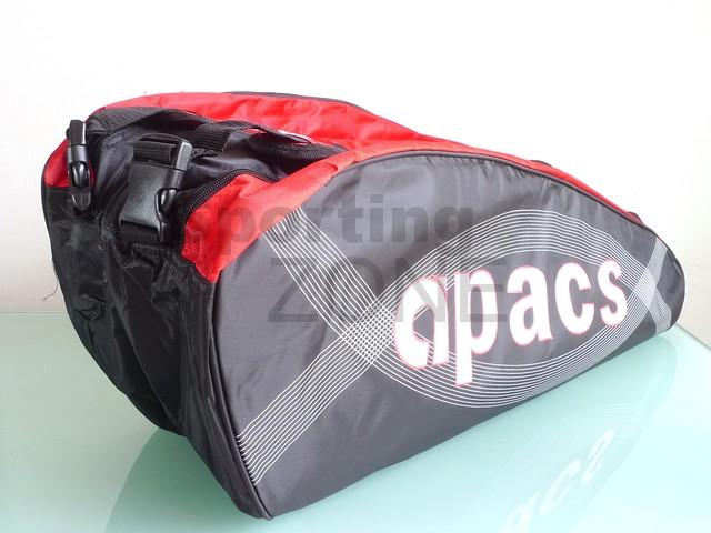 Apacs 2 Compartments Badminton Racket Bag AP828 Red Black