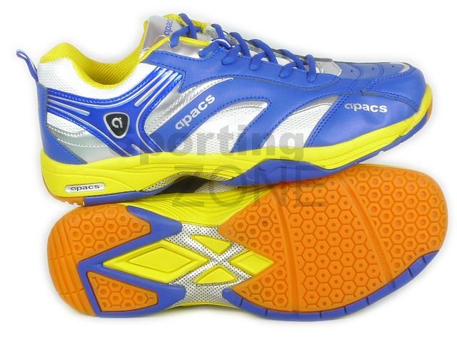 Apacs Cushion Power 329 Blue Badminton Shoes Size: EU44 UK10
