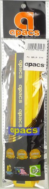 Apacs PU Super Grip Yellow for Badminton Racket PU777
