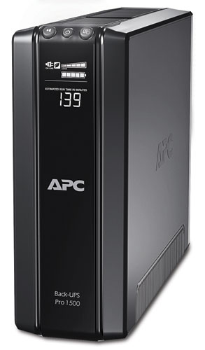 APC 1500VA POWER SAVING BACK PRO UPS WITH LCD (BR1500GI)