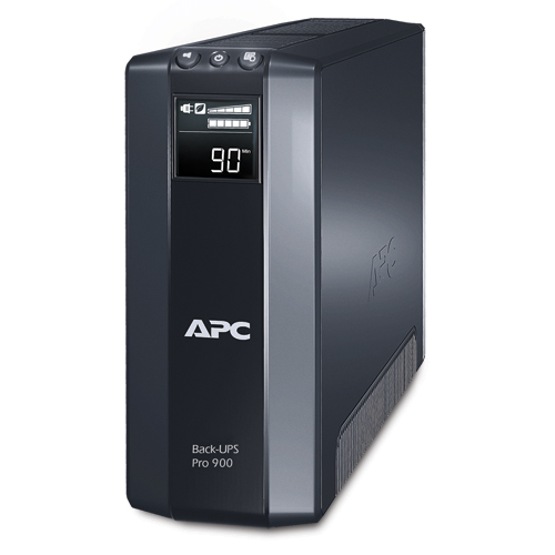APC 900VA BR900GI Power Saving Back Pro with LCD UPS Backup Battery